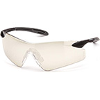 PYRAMEX INTREPID II FRAMELESS LIGHTWEIGHT SAFETY GLASSES WITH INDOOR/OUTDOOR