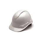 SHINY WHITE GRAPHITE PATTERN CAP STYLE 4-POINT VENTED RATCHET