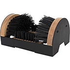 PERFORMANCE TOOL W9451 BOOT BRUSH CLEANER FLOOR MOUNT WITH HARDWARE