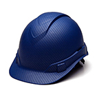 PYRAMEX RIDGELINE BLUE GRAPHITE PATTERN HARD HAT