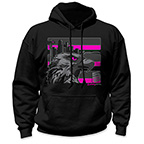 PINK SEATTLE STEALTH HOODIE - PINK/REFLECTIVE/BLACK