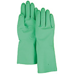 MAJESTIC 15 MIL UNLINED NITRILE 12 IN. GLOVES - GREEN