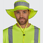 UTILITY PRO HIGH VISIBILITY BUCKET HAT - PROTECTED WITH PERIMETER INSECT