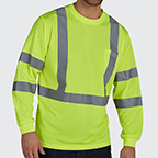 UTILITY PRO - SLEEVE ANSI 3 TEE - PROTECTED WITH PERIMETER INSECT GUARD