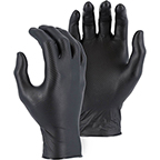 MAJESTIC SUPER GRIP DISPOSABLE GLOVES WITH EMBOSSED FISH SCALE PATTERN