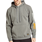 TIMBERLAND PRO HOOD HONCHO PULLOVER - CHARCOAL HEATHER