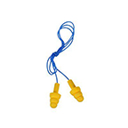 3M E-A-R ULTRAFIT EARPLUGS CORDED POLY BAG - 100 PAIR/CASE