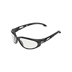 EDGE EYEWEAR DAKURA SAFETY GLASSES - BLACK/CLEAR