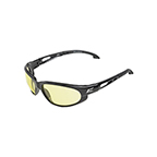 EDGE EYEWEAR DAKURA SAFETY GLASSES - BLACK/YELLOW