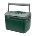 STANLEY ADVENTURE EASY CARRY OUTDOOR COOLER 16QT - GREEN