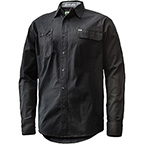 L/S STRETCH WORK SHIRT BLK