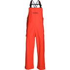 GRUNDENS LIGHTWEIGHT WATERPROOF RAIN PANTS NEPTUNE 509 BIB TROUSERS - ORANGE
