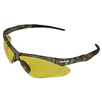 V30 NEMESIS SAFETY GLASSES WITH AMBER ANTI-FOG, SCRATCH-RESISTANT LENS