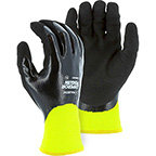 EMPEROR PENGUIN WINTER LINED NYLON GLOVE WITH CLOSED-CELL NITRILE DIP PALM