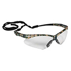V30 NEMESIS SAFETY GLASSES WITH CLEAR ANTI-FOG, SCRATCH-RESISTANT LENS