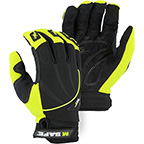 ARMOR SKIN™ MECHANICS GLOVE WITH FINGER GUARDS AND TOUCH SCREEN THREAD